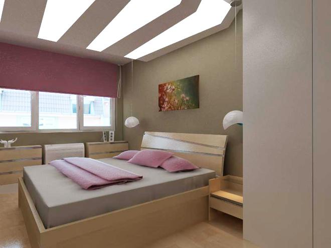 Декоративните елементи тук са съсредоточени върху тавана