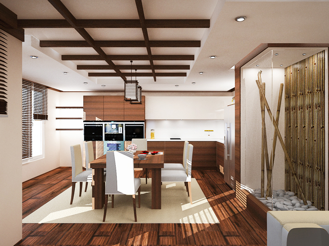 Японски мотиви с бамбук