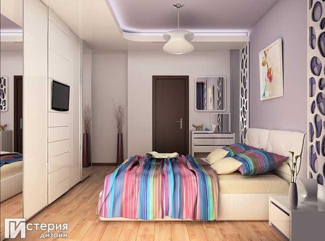 Атрактивен акцент в помещението внася дизайнерското решение на стенните панели