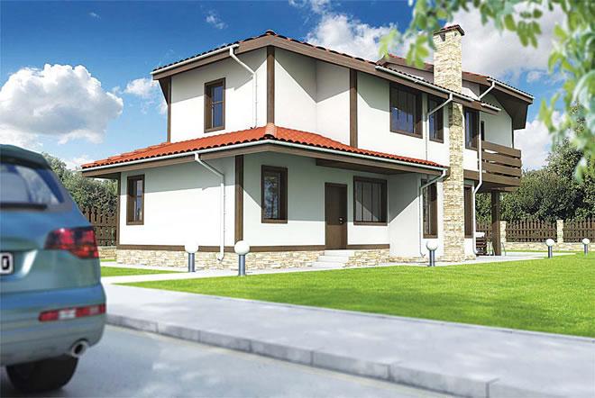 Проект на вилна сграда