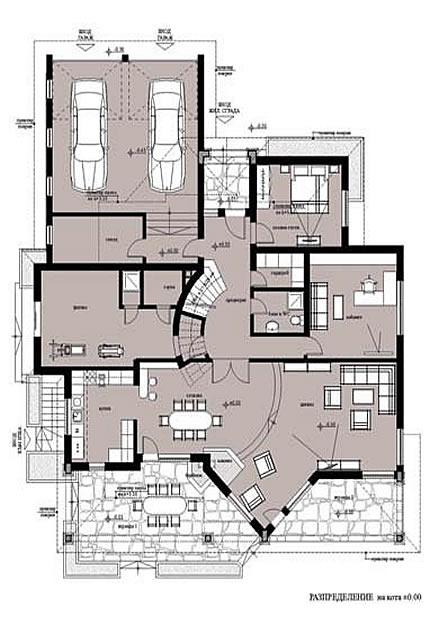 План на първия етаж