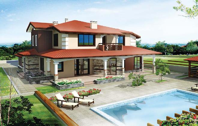 Проект на къща в с. Белащица