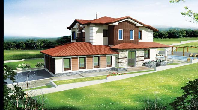 Проект на къща - перспектива