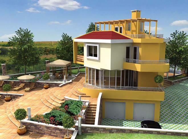 Проект на Вила Аркадиа