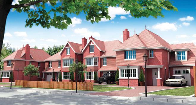 Проект на жилищен комплекс от редови двуетажни къщи