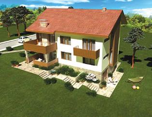 Проект на двуфамилна къща