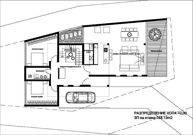 Проект на еднофамилна къща HOUSE H