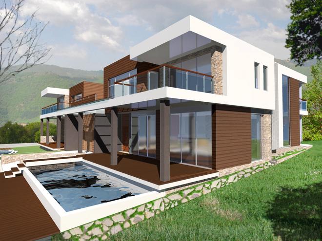 """Проекти на две еднофамилни жилищни сгради в местност """"Исака"""", край с. Марково"""