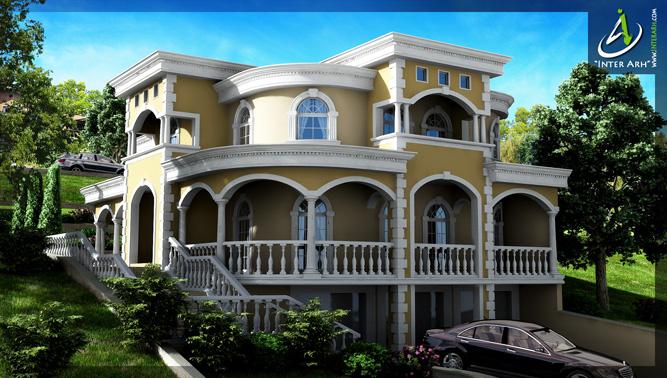 """Проект на еднофамилна къща в СО """"Пчелина"""""""