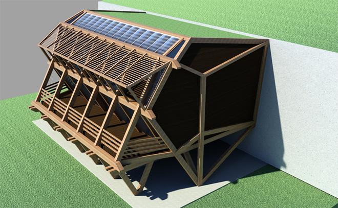 Проект на пасивна къща