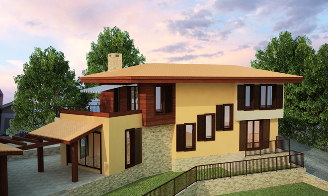 Проект на лятна къща край морето в гр. Черноморец