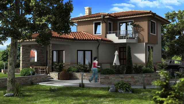"Проект на еднофамилна къща в СО ""Ментеше"""