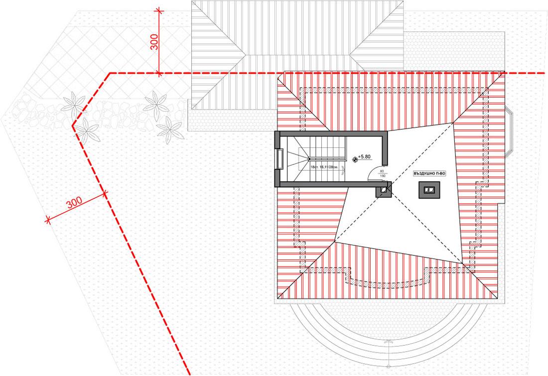 План на 3 етаж