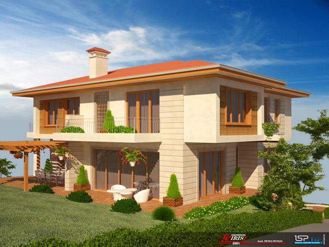 Проект на еднофамилна къща в гр. Банкя