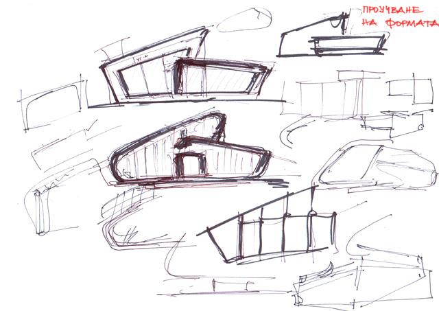 Проучване на формата - скица