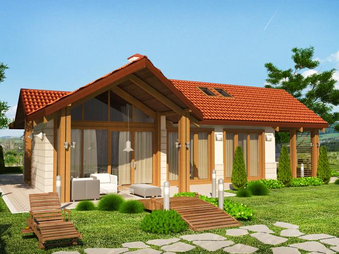 Проект на еднофамилна къща - готов проект