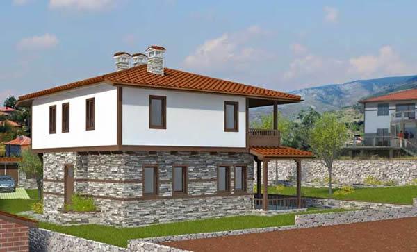 """Проект на еднофамилна къща в местност """"Горна Трака"""", гр. Варна"""