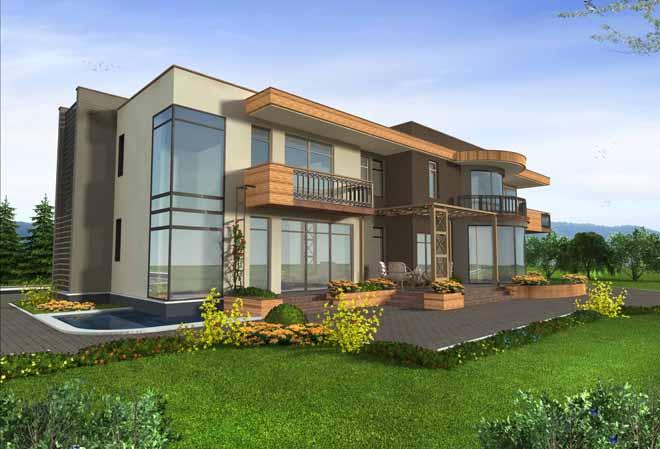 Проект на еднофамилна къща в с. Браниполе