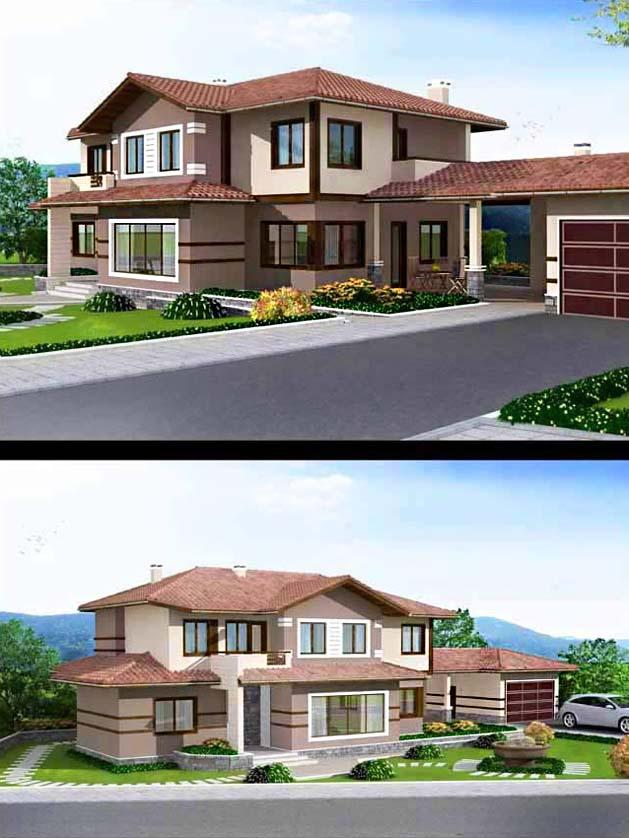 Проект на еднофамилна къща в с. Тополово, общ. Асеновград