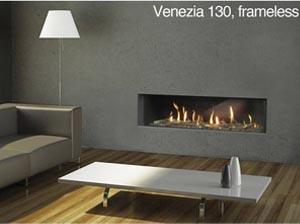 Газова камина Venezia 130 - вижте техничиската характеристика и цена...