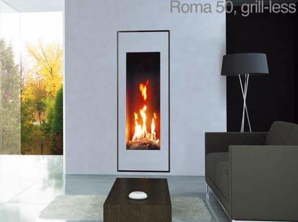 Газова камина Roma 50 - вижте техничиската характеристика и цена...