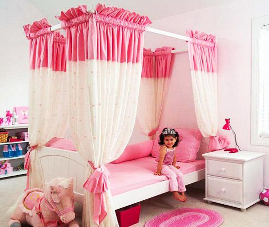 Няма момиченце, което да не е мечтало за  чаровна розова спалня.