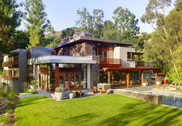 Къща, която усъвършенства баланса между форма и функция