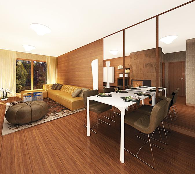 Изчистен дизайн за мебелите