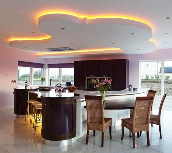 И кухнята засия в цветовете на дъгата...
