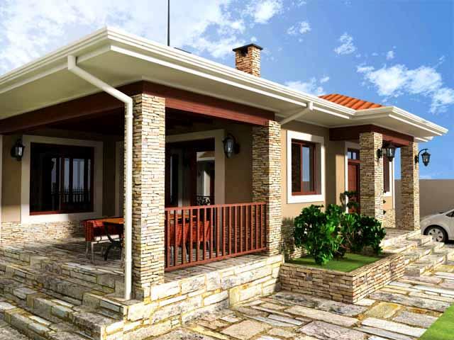 Проект на еднофамилна къща в м. Прослав, гр. Пловдив