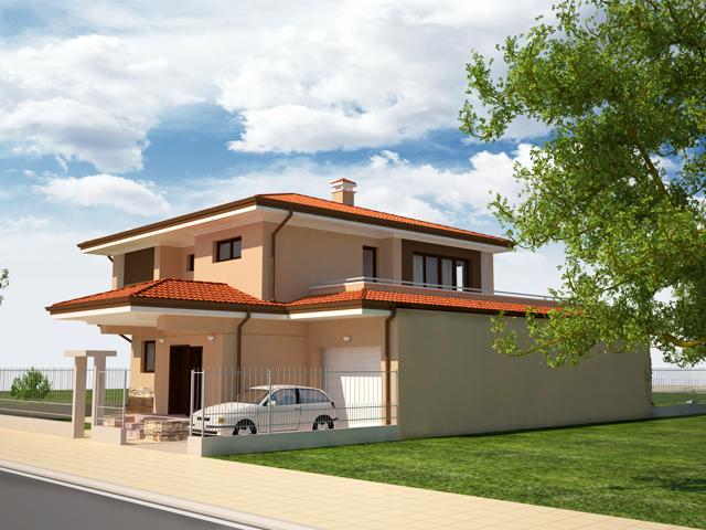 Проект на еднофамилна къща в гр. Козлодуй