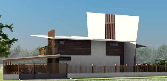 Проект на еднофамилна къща във вилна зона край гр. Пловдив, кв. Беломорски