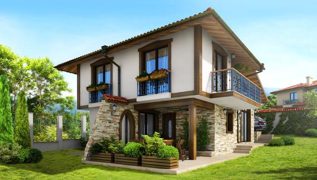 Идеен проект на еднофамилна къща в околностите на гр. Варна