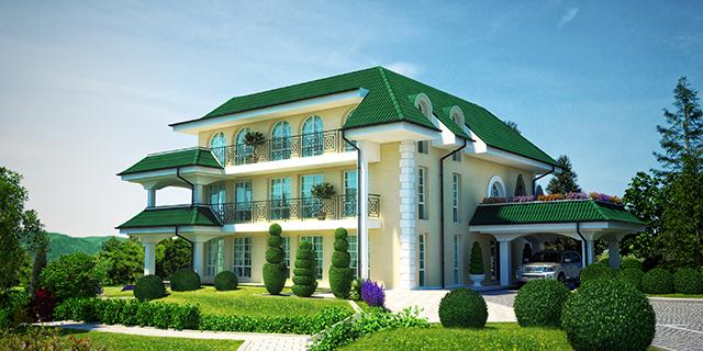 Проект на многофамилна къща в с. Катунци, общ. Сандански