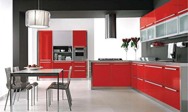 L-образната кухня