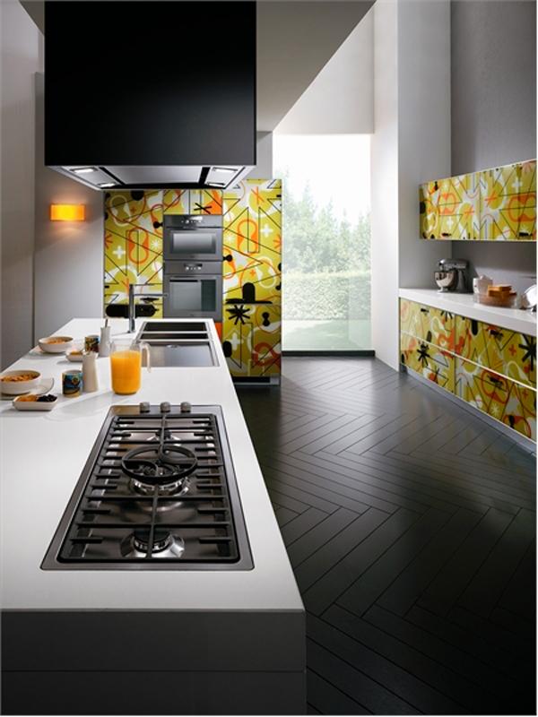 Кухня в стил поп-арт