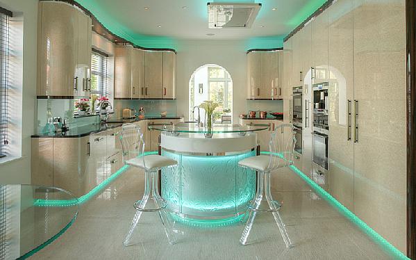 Светлинно шоу в кухнята